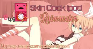 Skin Clock  Kawaii Ipod Rainmeter