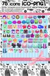 75 iconos editados por mi!