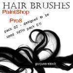 PSP8 HAIR brush pack 02
