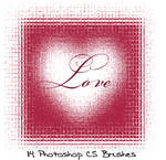 Photoshop CS LOVE brushes