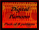 Digital Kimono Patterns