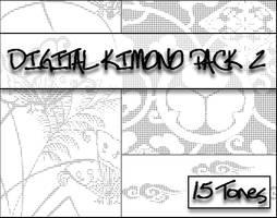 Digital Kimono Pack 2 by bakenekogirl