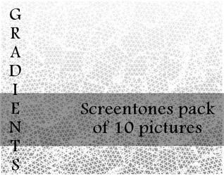 Gradients Screentones Pack by bakenekogirl