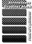 Screentones Black Gradient