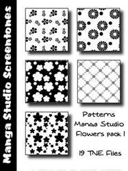 Patterns MangaStudio pack 3