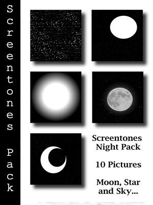 Screentones Night Pack by bakenekogirl