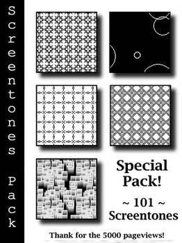 Special Pack 101 Screentones