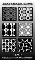 Islamic Seamless Patterns -Set 1