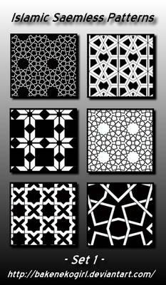 Islamic Seamless Patterns -Set 1
