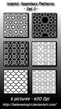 Islamic Seamless Patterns - Set 3