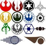 Star Wars Symbol Custom Shapes