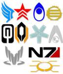Mass Effect Symbols