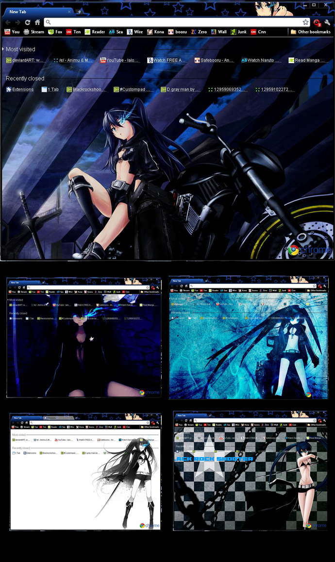 Blackrockshooter themes by MangaServer