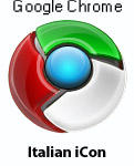 Google Chrome : Italian Icon by d-bliss