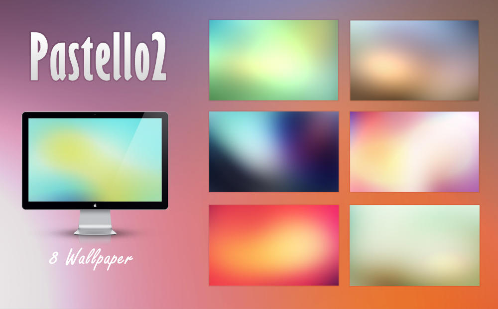 Pastello 2 - Wallpaper Pack by d-bliss