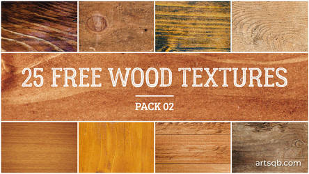 25 Free Wood Textures: Pack 02