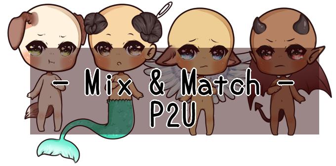 [now f2u] Mix and Match Base by YQK