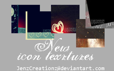 New icon texture by jenzCreationz