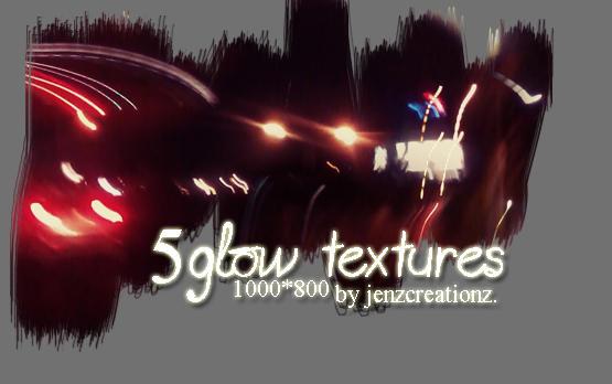 glow texture by jenzCreationz