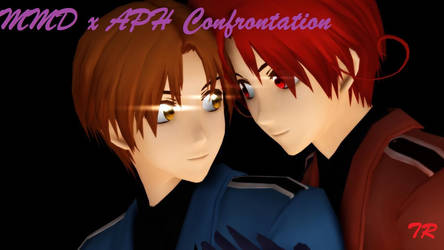 MMD x APH Confrontation Final Product by jadenramsey