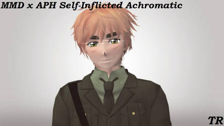 MMD x APH Self-Inflicted Achromatic by jadenramsey