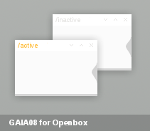 Gaia08 for Openbox by bl1nks