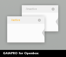 GaiaPro for Openbox by bl1nks