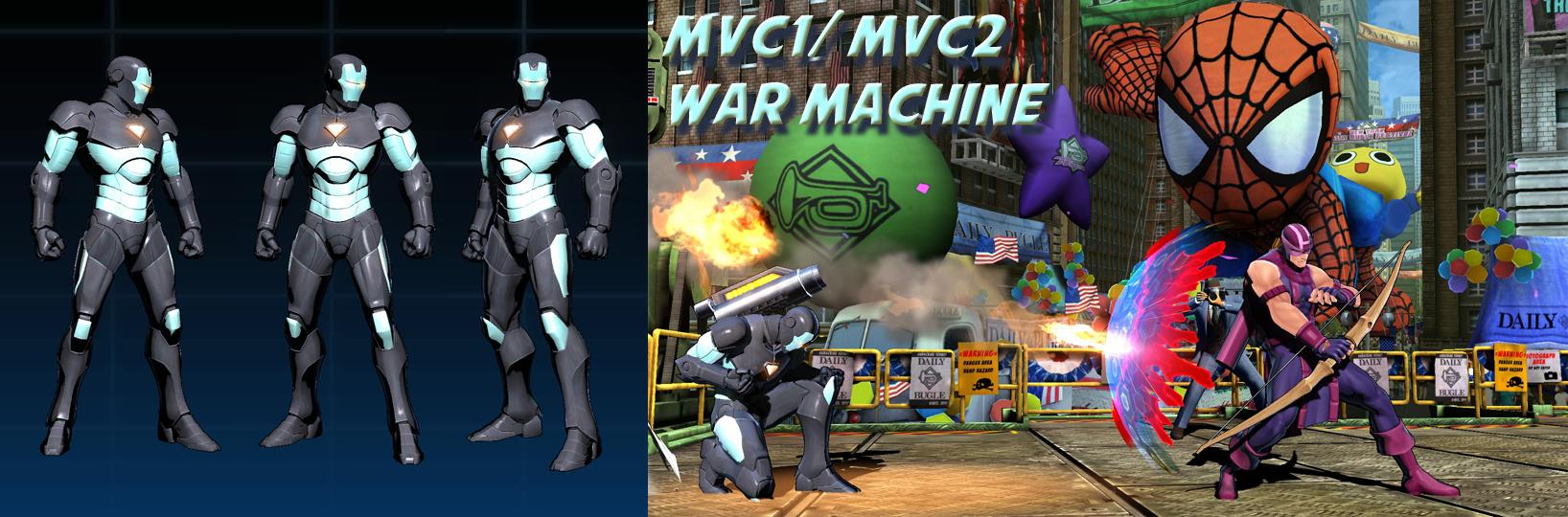 mvc war machine