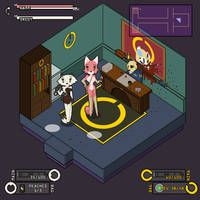 Memory's Threads Page 128 - UI and Idle animation by TiredOrangeCat
