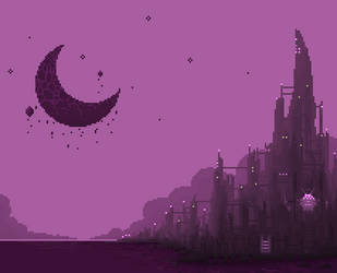 moon city by qmffnaowlr