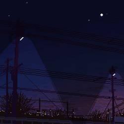 almost night by qmffnaowlr