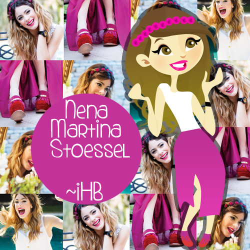 Nena Martina Stoessel by iHeartBelieber