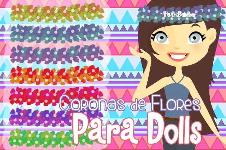 Coronas de Flores para Dolls by iHeartBelieber