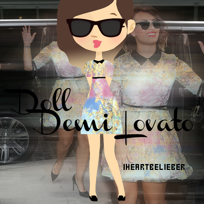 Nena Demi Lovato by iHeartBelieber