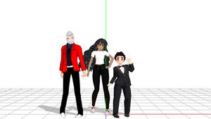 MMD: Big Project WIP preview by HCShannon