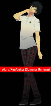 Akira/Ren/Joker [Summer Uniform] DL by Lumialle