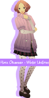 Haru Okumura [Winter Uniform] DL