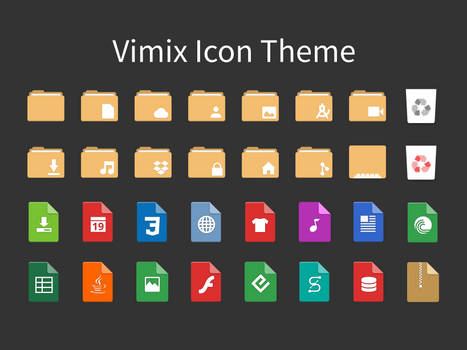 Vimix-icon-themes