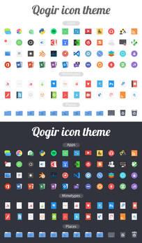 Qogir icon theme