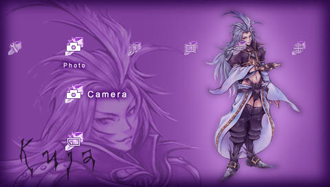 Dissidia FF: Kuja PSP Theme by roseannepage