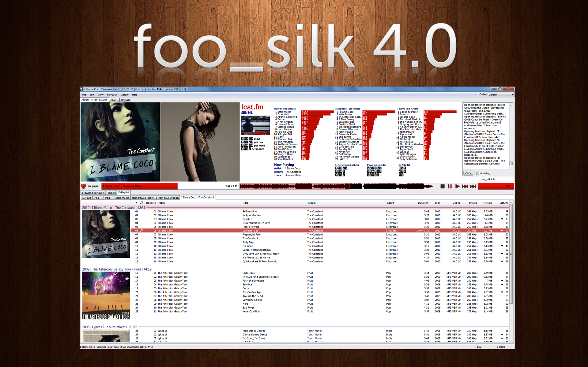 foo_silk 4.0 by MatthijsB