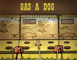Flash: Gas A Dog by danzr4ever