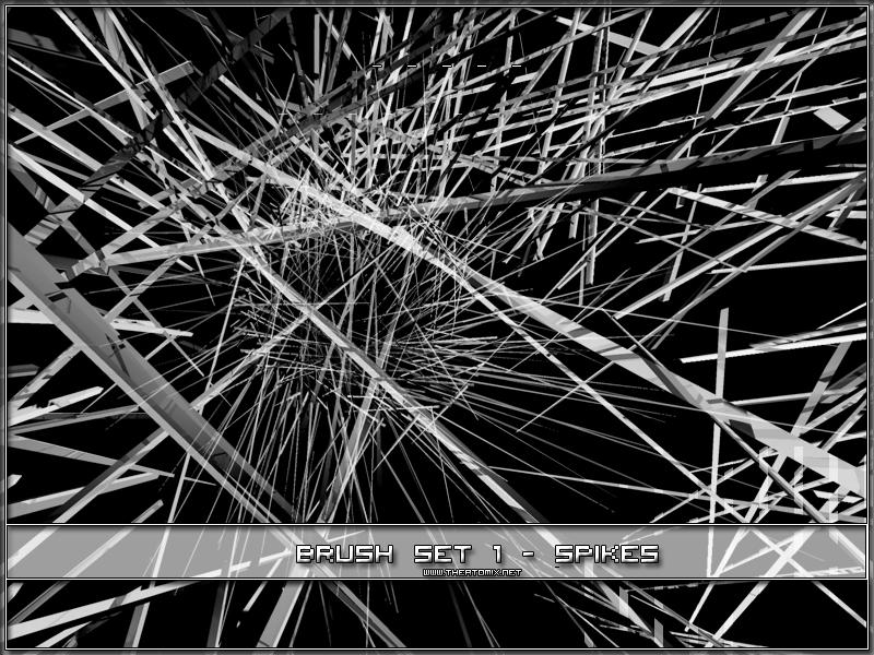 Brush Set 1 - Spikes by Icecrack