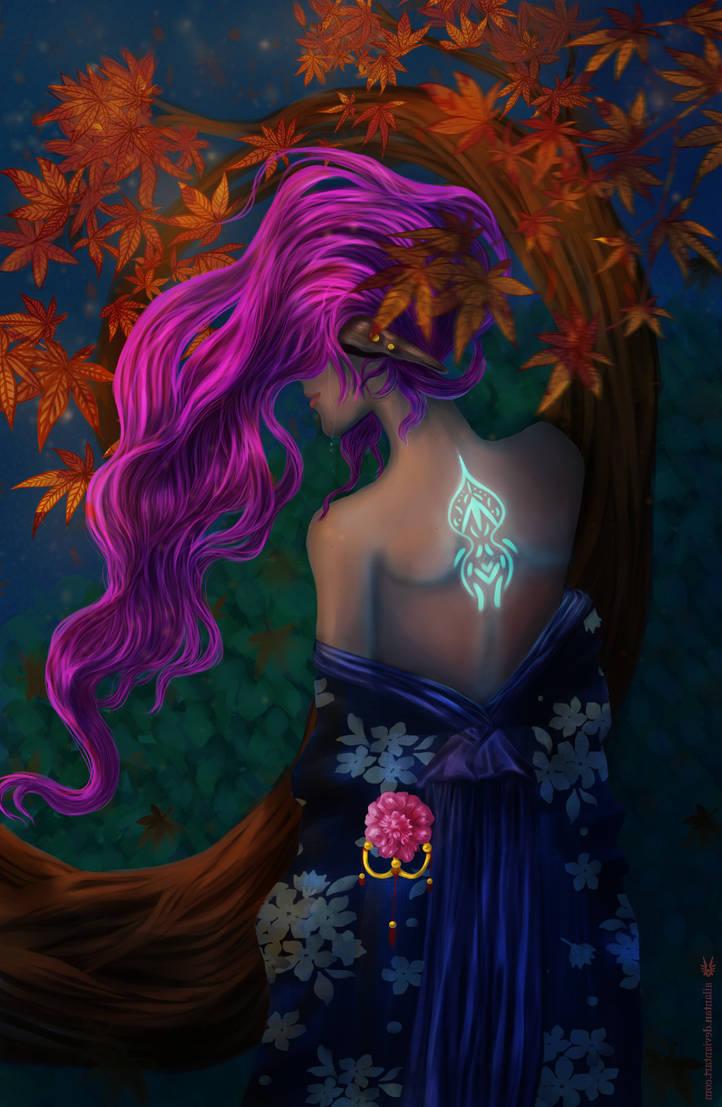 Autumn's Dim Decay by Ailantan