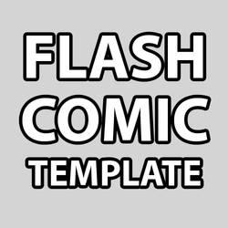 flash comic template
