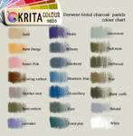 Krita tinted charcoal swatch