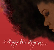 {s3d} nappy hair brushes by niakori