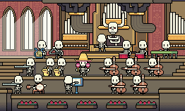 Skeleton Orchestra (Apr 2015) by emimonserrate