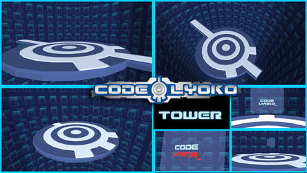 [MMD] Stage - Lyoko Tower by moulinneufbeast