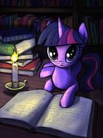 Twilight Sparkle by INowISeeI